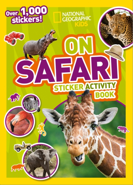 On Safari Sticker Activity Book