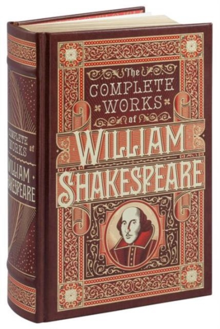 Complete Works of William Shakespeare (Barnes & Noble Leatherbound Classic Collection)