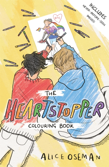 Heartstopper Colouring Book