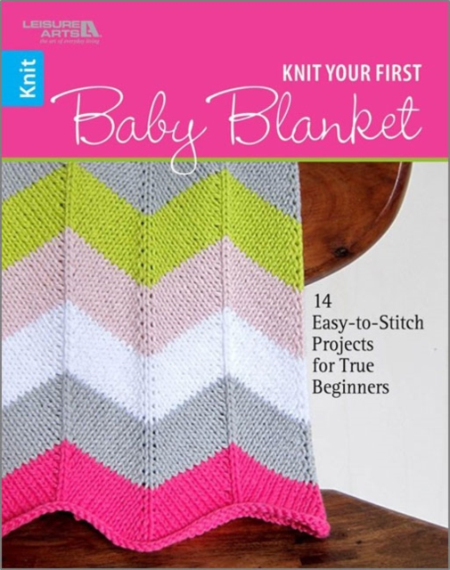 Knit Your First Baby Blanket