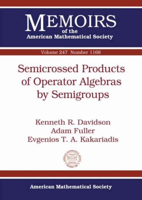 Semicrossed Products of Operator Algebras by Semigroups