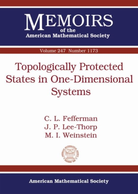 Topologically Protected States in One-Dimensional Systems