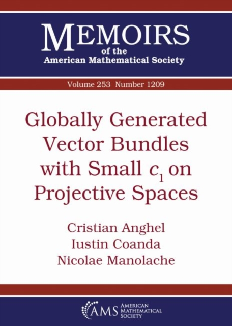 Globally Generated Vector Bundles with Small $c_1$ on Projective Spaces