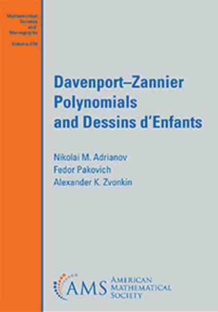 Davenport-Zannier Polynomials and Dessins d'Enfants