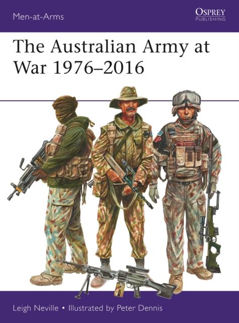 Australian Army at War 1976-2016