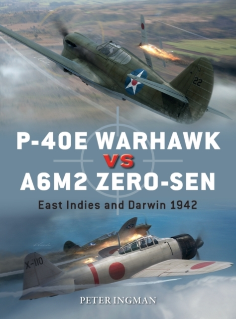 P-40E Warhawk vs A6M2 Zero-sen