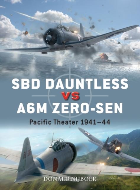 SBD Dauntless vs A6M Zero-sen