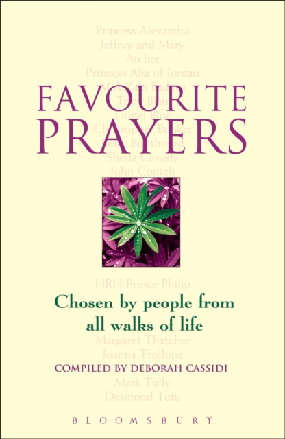 Favourite Prayers
