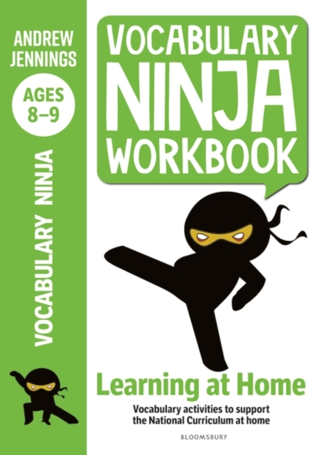 Vocabulary Ninja Workbook for Ages 8-9