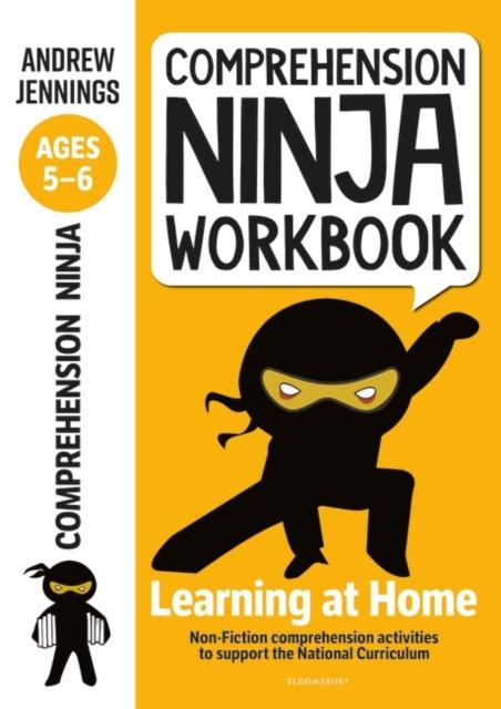 Comprehension Ninja Workbook for Ages 5-6