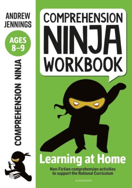 Comprehension Ninja Workbook for Ages 8-9