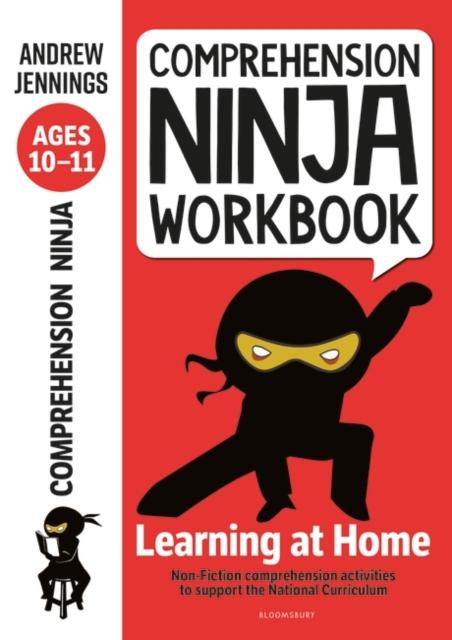 Comprehension Ninja Workbook for Ages 10-11