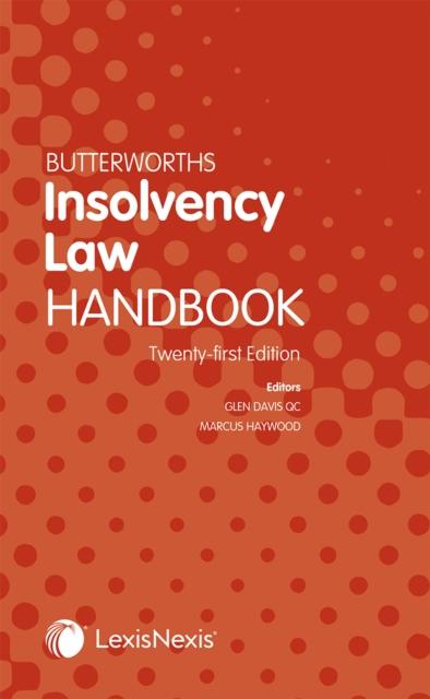 Butterworths Insolvency Law Handbook