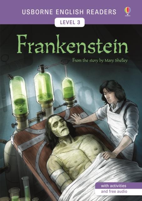Usborne English Readers Level 3: Frankenstein