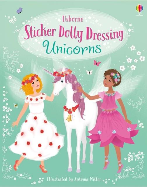 Sticker Dolly Dressing Unicorns