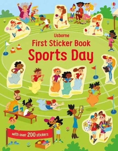 First Sticker Book Sports Day