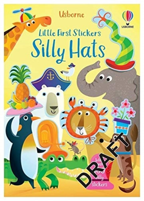 Little First Stickers Funny Hats