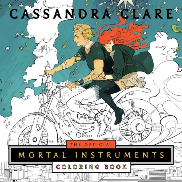 Official Mortal Instruments Coloring Book