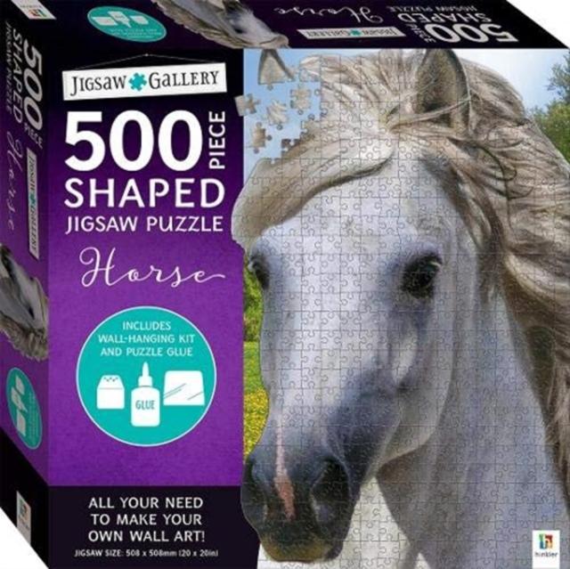 Jigsaw Gallery 500-Piece Shaped Jigsaw - Horse