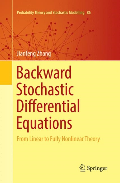 Backward Stochastic Differential Equations