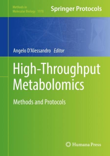 High-Throughput Metabolomics