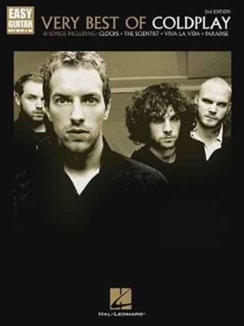 Very Best Of Coldplay 2nd Edition Easy Guitar