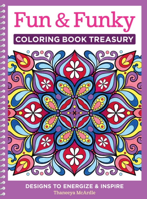 Fun & Funky Coloring Book Treasury