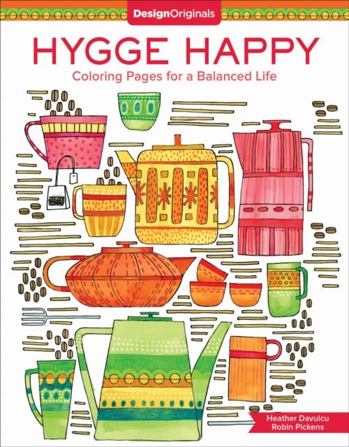 Hygge Happy Coloring Book