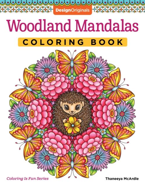 Woodland Mandalas Coloring Book