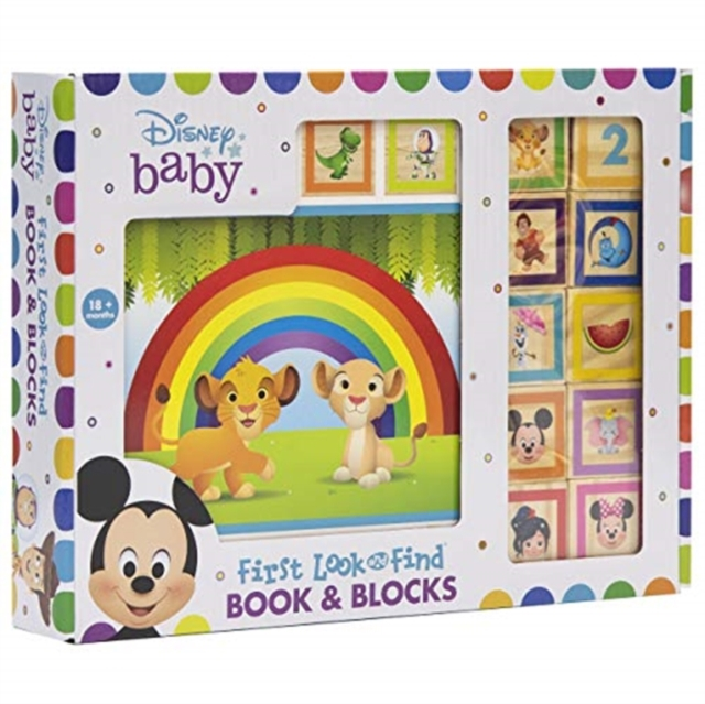 FIRST LOOK AND FIND DISNEY BABY