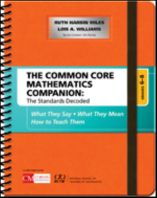Common Core Mathematics Companion: The Standards Decoded, Grades 6-8