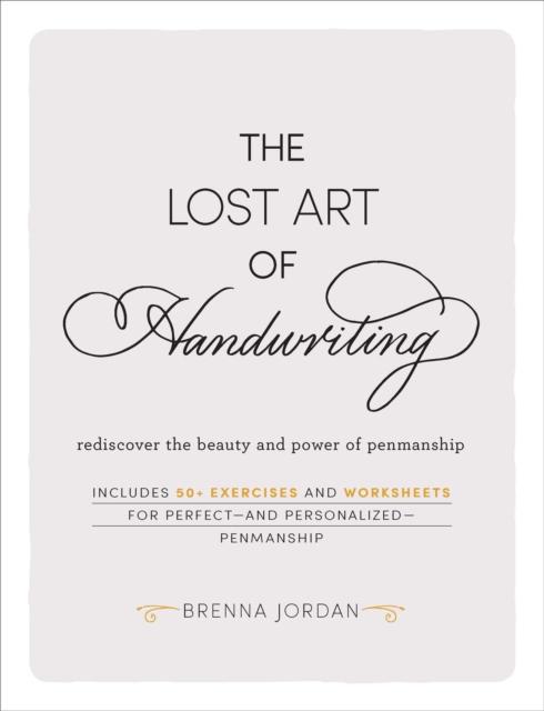 Lost Art of Handwriting