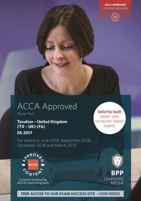 ACCA F6 Taxation FA2017