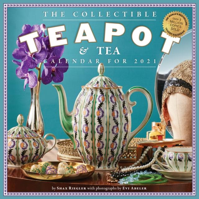 2021 Collectible Teapot & Tea Wall Calendar