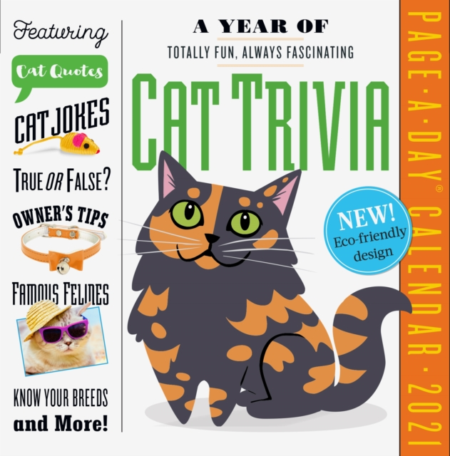 Year of Cat Trivia Page-A-Day Calendar 2021
