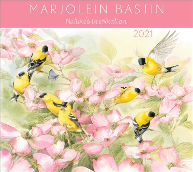 Marjolein Bastin Nature's Inspiration 2021 Deluxe Wall Calendar