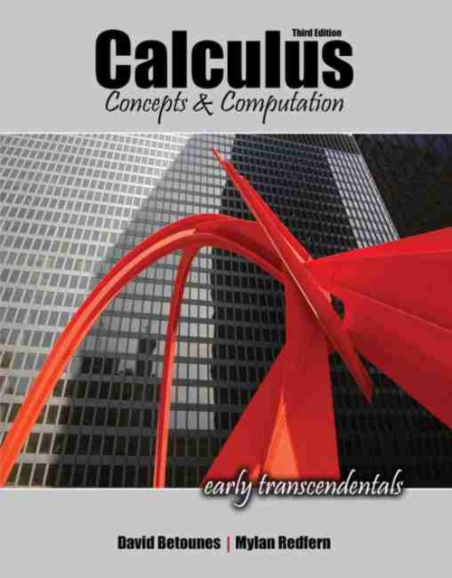 Calculus: Concepts and Computation