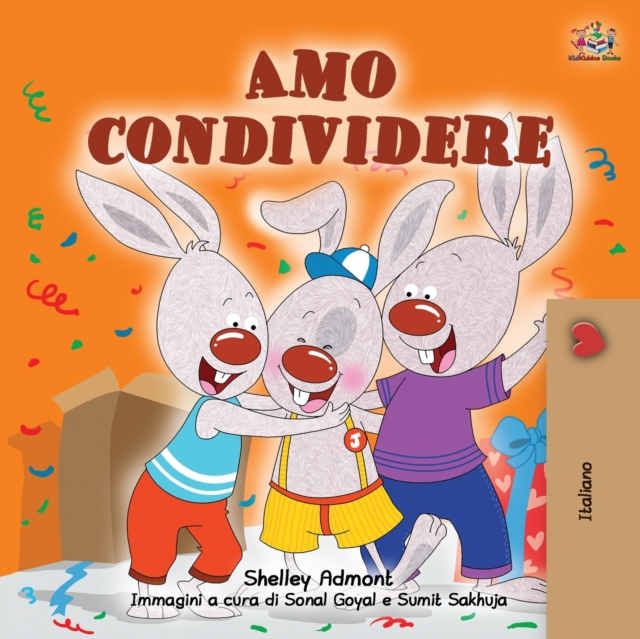 I Love to Share (Italian Book for Kids)