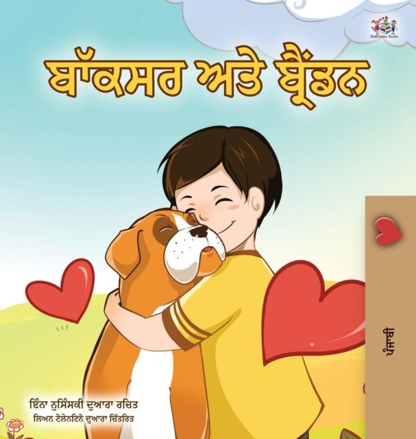 Boxer and Brandon (Punjabi Book for Kids -Gurmukhi India)