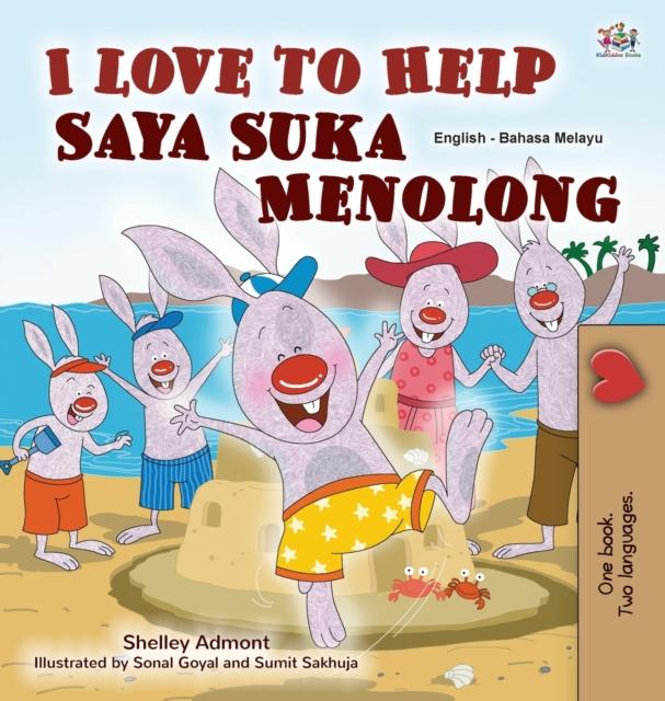 I Love to Help (English Malay Bilingual Book for Kids)