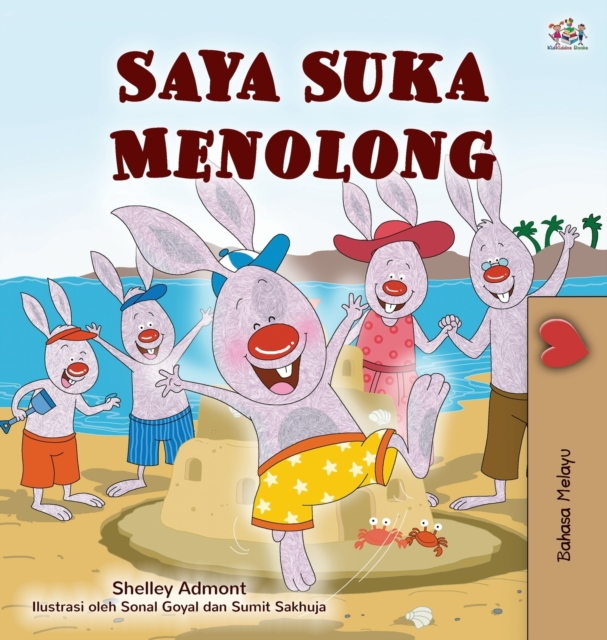 I Love to Help (Malay Children's Book)