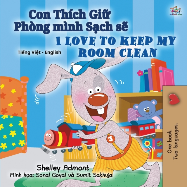 I Love to Keep My Room Clean (Vietnamese English Bilingual Book for Kids)