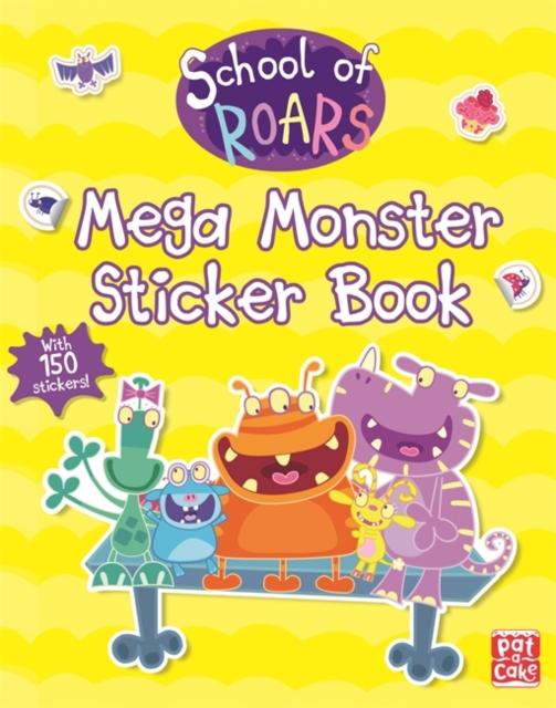 School of Roars: Mega Monster Sticker Book