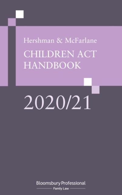 Hershman and McFarlane: Children Act Handbook 2020/21