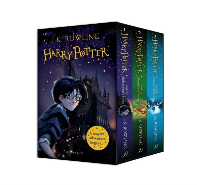 Harry Potter 1-3 Box Set: A Magical Adventure Begins