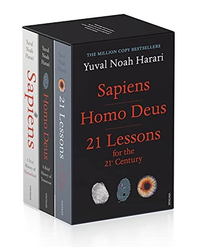 Yuval Noah Harari Box Set (promotie in limita stocului disponibil)