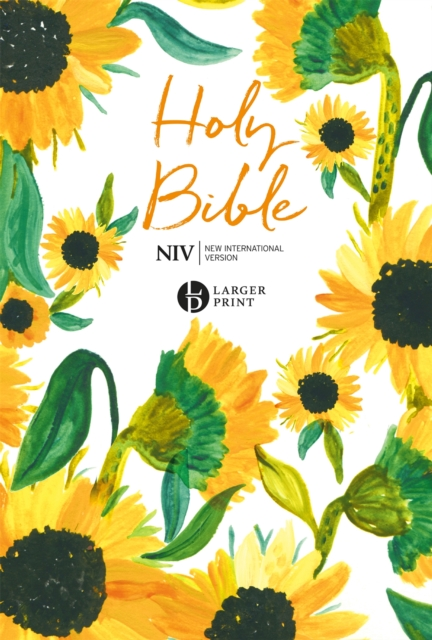 NIV Larger Print Soft-tone Bible