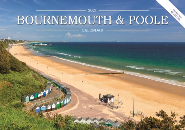 Bournemouth & Poole A5 Calendar 2021