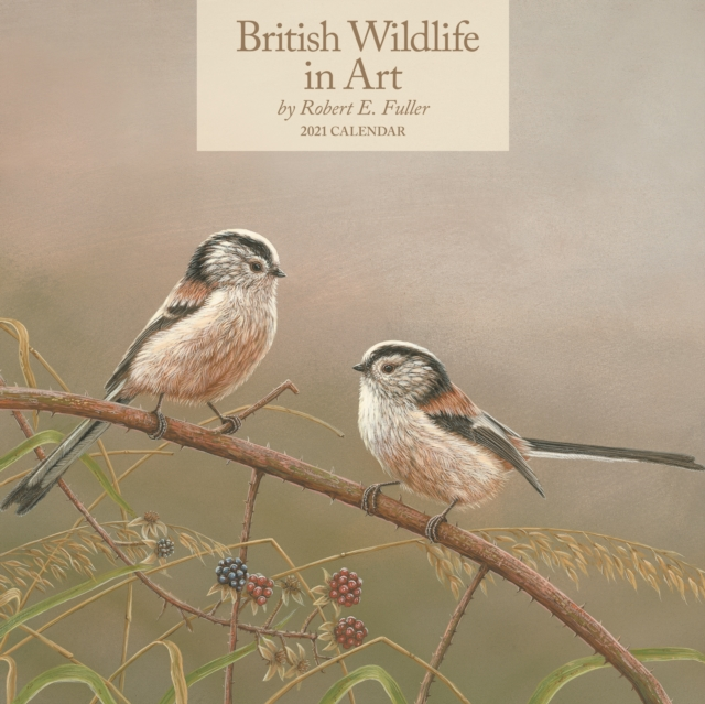 British Wildlife in Art by Robert Fuller Square Wall Calendar 2021