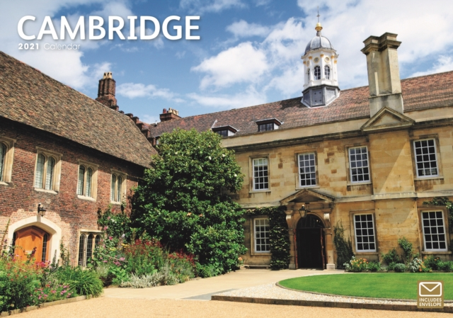 Cambridge A4 Calendar 2021